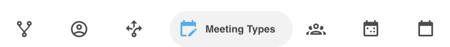 Meeting Type Menu